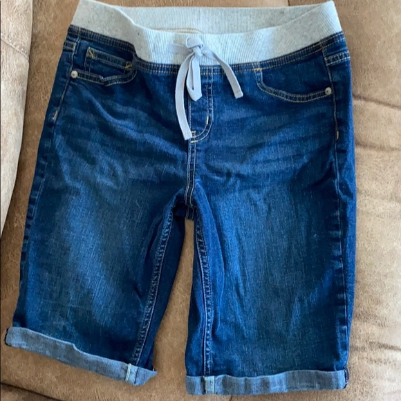 Justice girls shorts Size 16